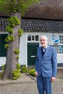 Wim Beelen zet zich in voor behoud van de rijksmonumentale boerderij aan 't Hofke 13 in Eindhoven.