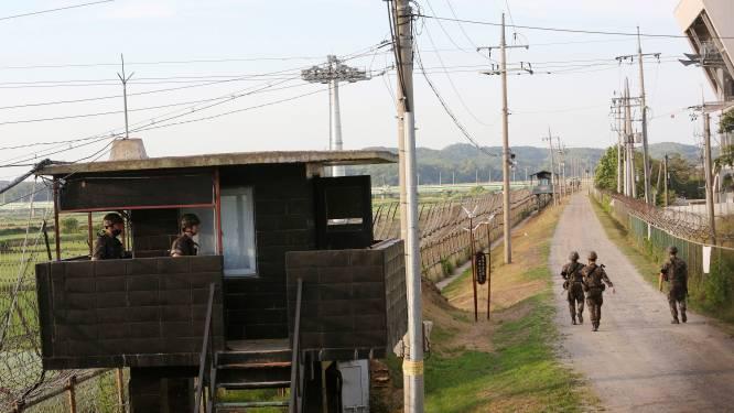 Noord-Koreaan steekt al zwemmend de grens met Zuid-Korea over