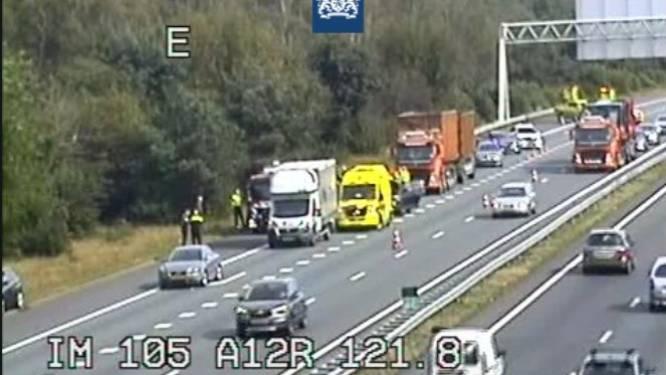 Ongeluk zorgt voor lunchfile op A12 bij Arnhem