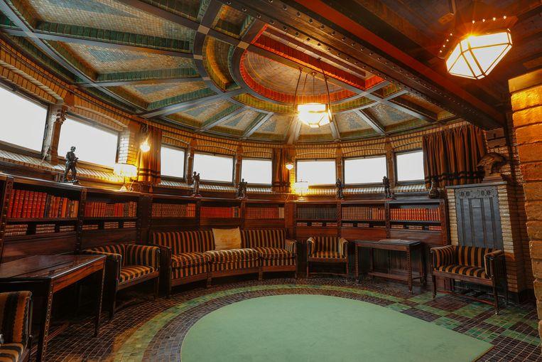 Het interieur van jachthuis Sint Hubertus. Beeld Rijksvastgoedbedrijf
