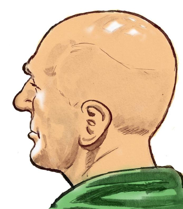 Jos de G., die wordt verdacht van verkrachting en doodslag van de vijftienjarige scholiere Nicole van den Hurk uit Eindhoven.