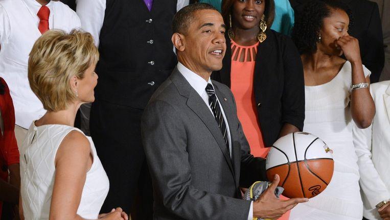 De Amerikaanse president Barack Obama. Beeld epa