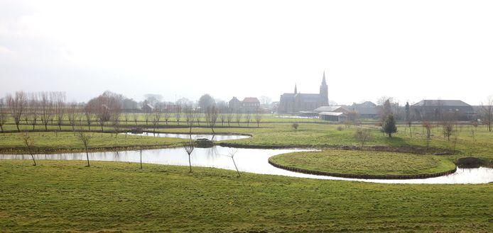 Het voormalige shortgolfterrein in Lamswaarde.