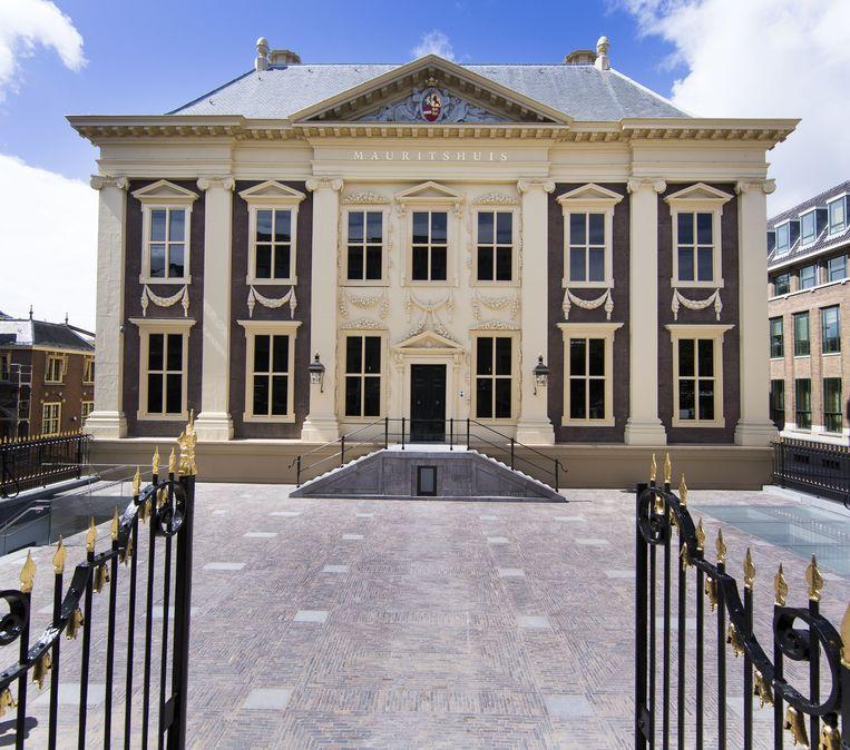 Het gerenoveerde Mauritshuis. Beeld Getty Images