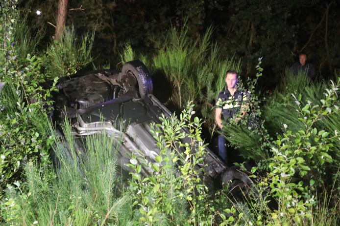 Ernstig ongeval op de N261 richting Tilburg.