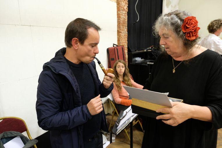 Nico Sturm en Reinhilde Decleir