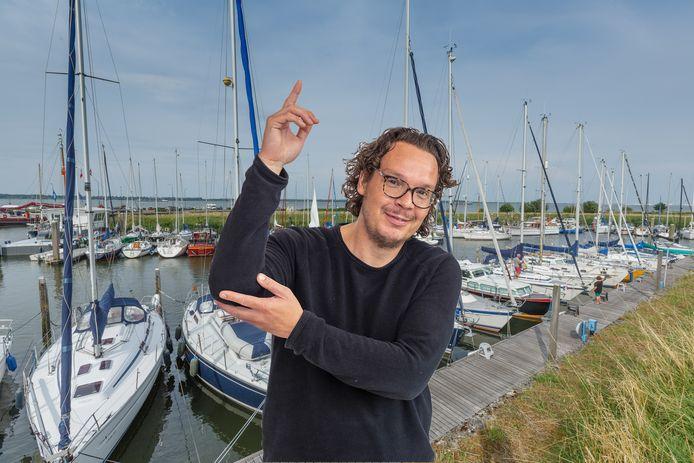 Verslaggever Pieter van den Akker
