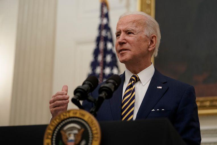 Eerder noemde Biden het door Trump geïnitieerde onderzoek naar de 'laboratorium-theorie' nog een 'verspilling van mankracht en middelen'.  Beeld European Press Agency (EPA)