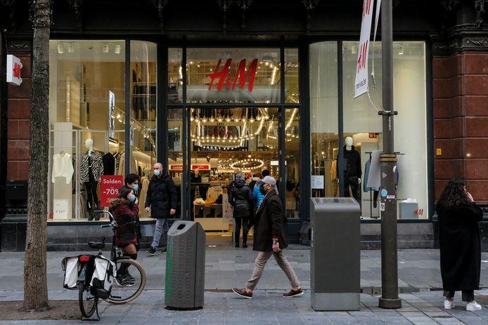 H&M op de Meir in Antwerpen.