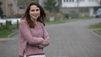 Oona Wyns (21) is de jongste kandidaat op de Europese sp.a-lijst