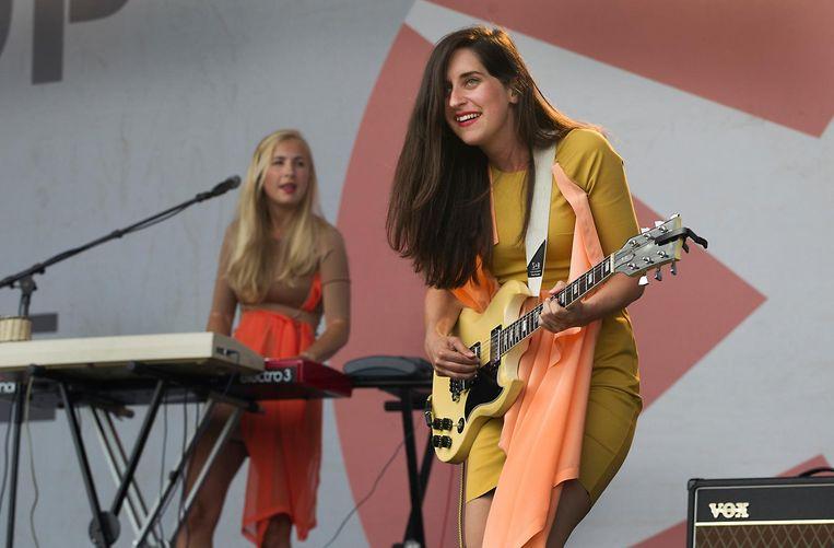 Eefje de Visser (hier op Pinkpop 2014) geeft in Carré een intiem concert. Beeld anp
