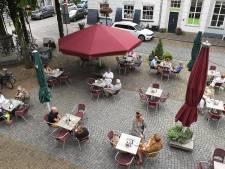 De terrasstoelen in het Land van Cuijk en Gennep blijven binnen