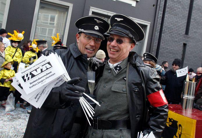 In 2013 was er al forse kritiek op het carnaval in Aalst, met name door mensen die een soort SS-uniformen aan hadden gedaan.