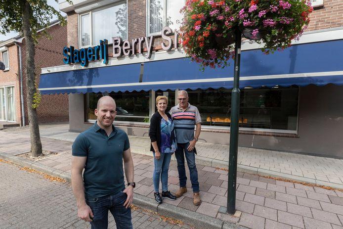 De slagerij van Berry en Lonny Smolders wordt overgenomen door zoon Bart.