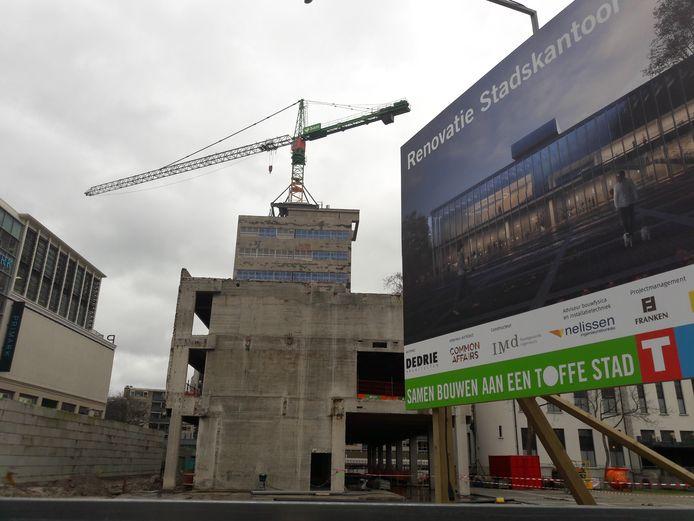 De renovatie van het stadskantoor is niet het enige karwei dat momenteel in de binnenstad van Tilburg wordt geklaard.