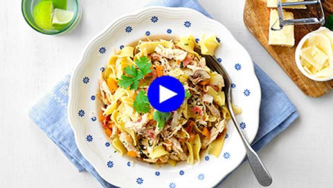 Zo heb je je pasta nog nooit geproefd: vervang de klassieke saus eens door fazantragu