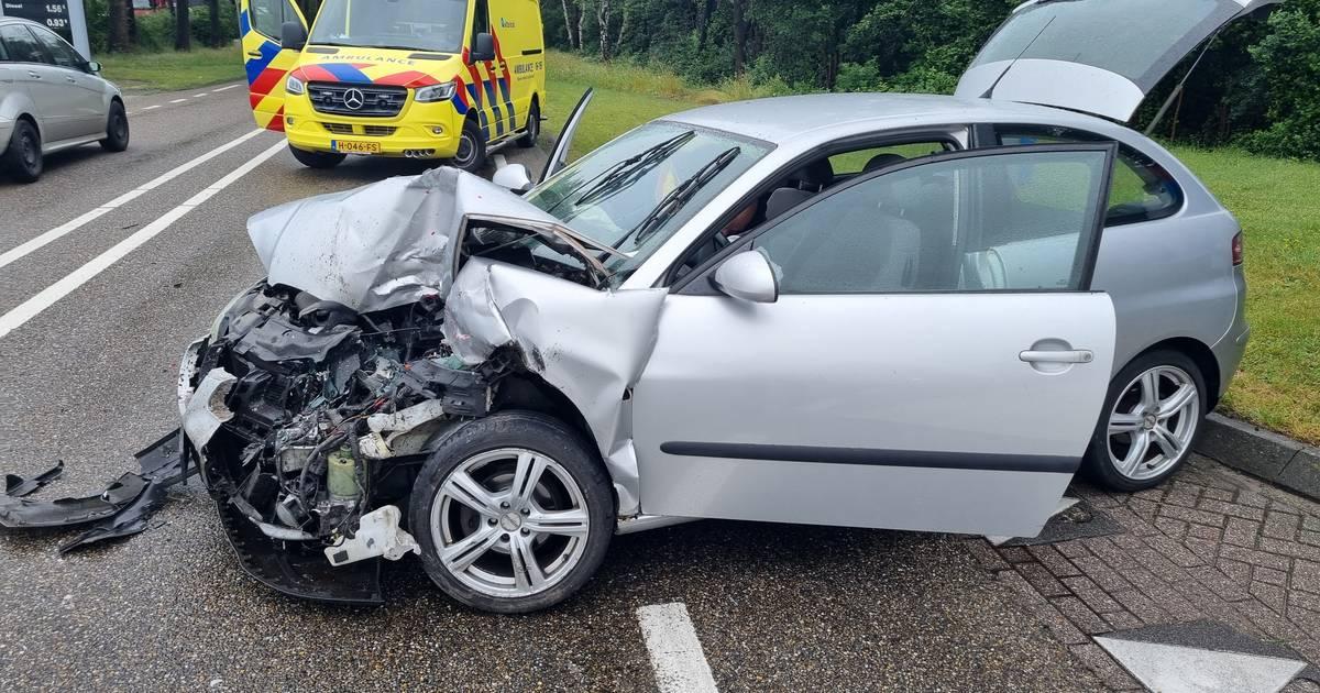 Twee gewonden bij ongeluk op N18 in Lichtenvoorde.