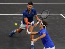 Duo Federer/Djokovic onderuit in Laver Cup