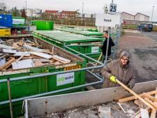 Grofvuil Argonstraat in Zoetermeer dicht door chaos