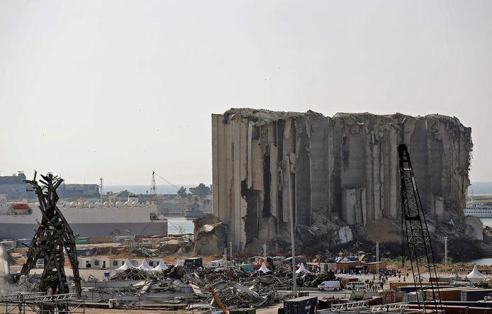 Le port de Beyrouth en août 2021.
