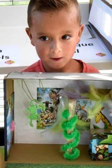 Jayden (5) ontwerpt én wint zijn eigen droomslaapkamer in junglestijl