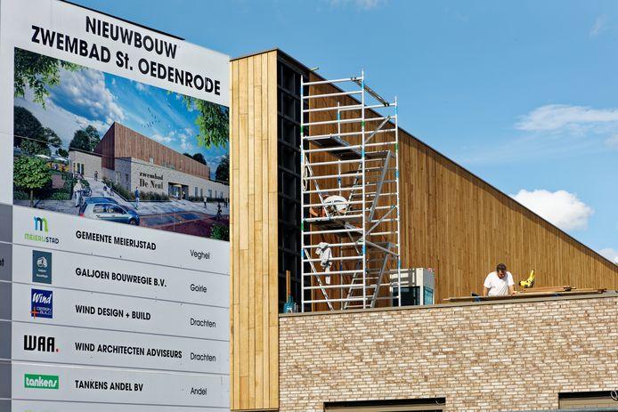 Het nieuwe zwembad De Neul in Sint-Oedenrode is eind dit jaar klaar.