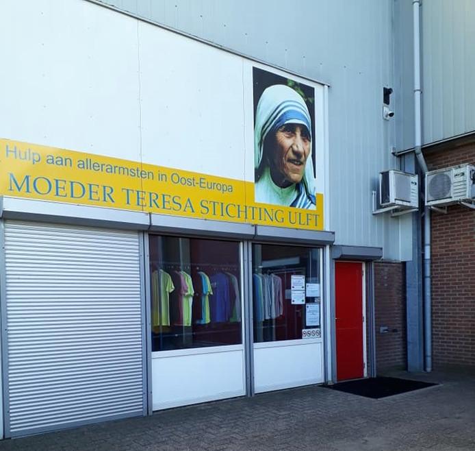 De winkel van de Moeder Teresa Stichting in Ulft.