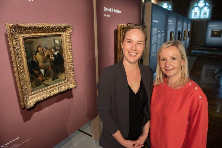 Curator Katrien Lichtert en MOU-conservator Geertrui Van Kerkhoven zijn overdonderd door het succes.