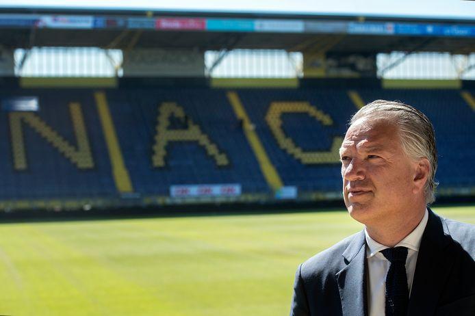 """NAC-directeur Mattijs Manders: ,,We gaan er samen een goed team van maken."""""""