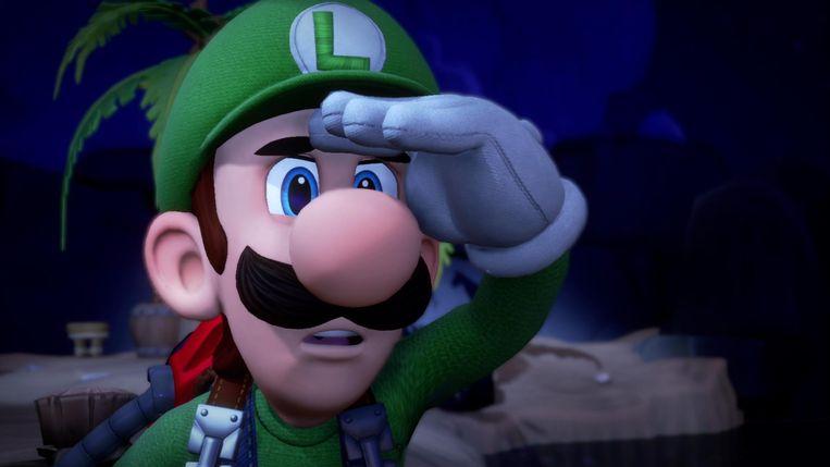 Beeld uit 'Luigi's Mansion 3'. Beeld Nintendo