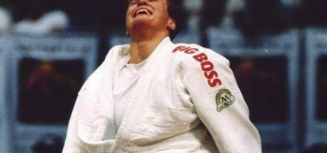 Judoka Monique van der Lee had al vroeg geen trek meer in een Chinese van 130 kilo