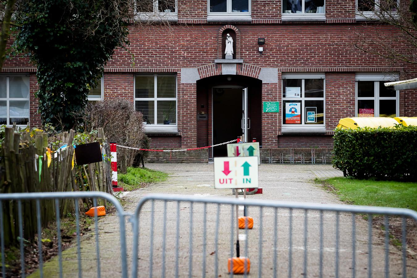 Une école primaire à Edegem, en province d'Anvers.