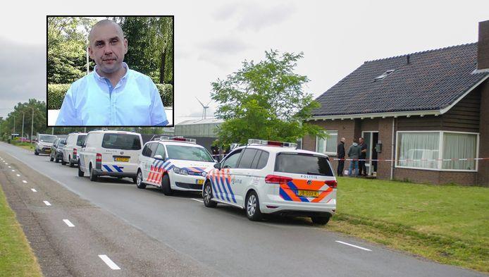 De woning aan de A.H. Verweijweg in Berkel en Rodenrijs waar slachtoffer Tomasz Tedorowicz met andere arbeidsmigranten woonde.