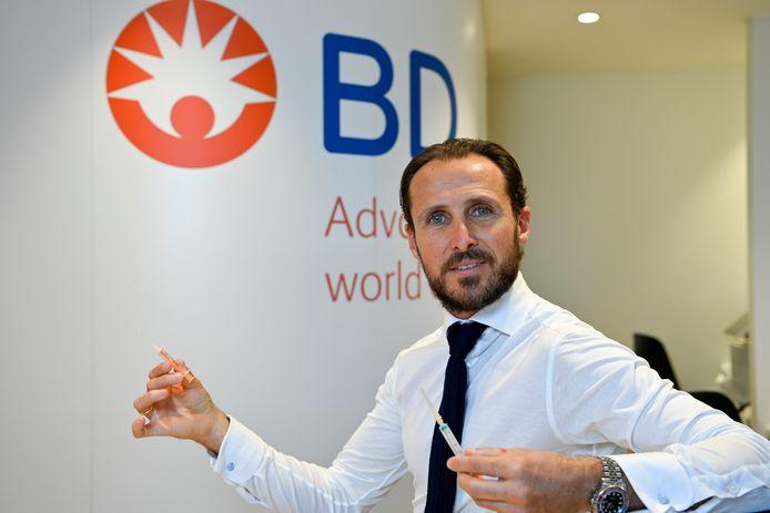 Directeur Alexander Alonso van BD Benelux