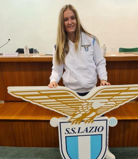 Feest voor Corina Luijks in Italië: Lepelstraatse promoveert met Lazio naar Serie A