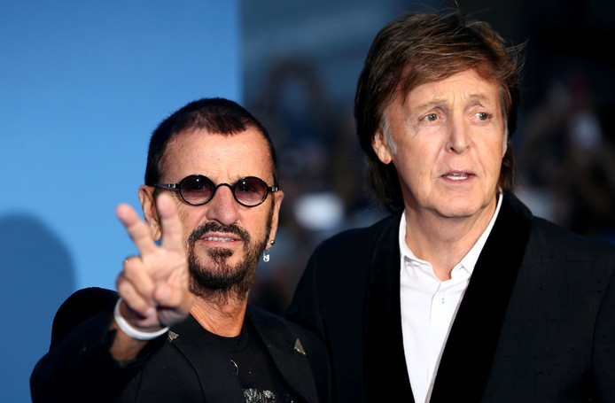 Ringo Starr en Paul McCartney.