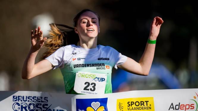 Belgisch kampioene korte cross Lotte Scheldeman viert rentree op Crosscup Relays