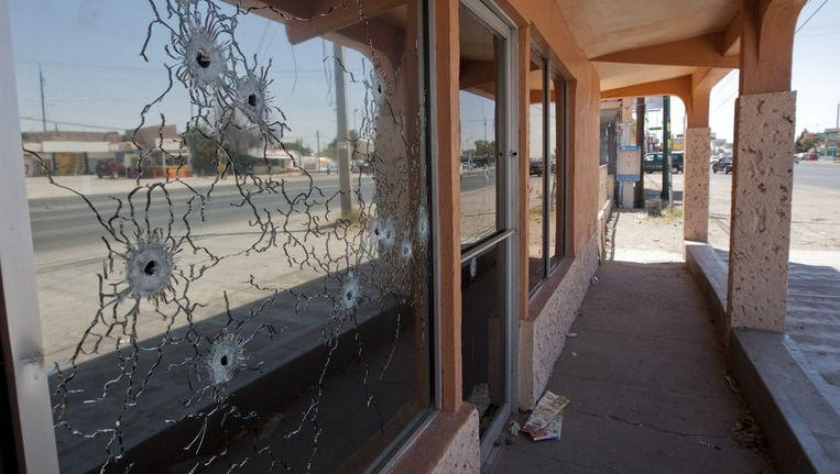Chihuahua, een van de zwaarst getroffen gebieden in de drugsoorlog, kampt met een leegloop onder de bevolking. Beeld afp