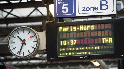 Honderden reizigers moeten overnachten in gestrande Thalys-treinen