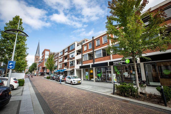 De illegale prostitutie vond plaats in een woning in het centrum van Hengelo.