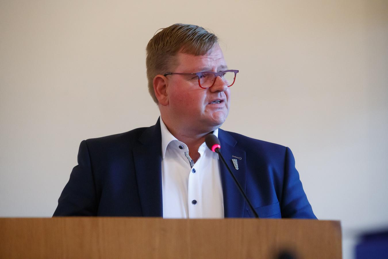 Wethouder Patrick van der Velden