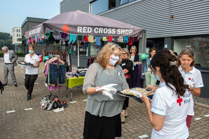 Het Rode Kruis opent een nieuw pand aan het Spinveld.
