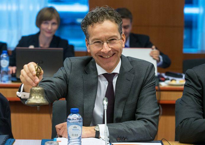 Voorzitter van de Eurogroep Jeroen Dijsselbloem.