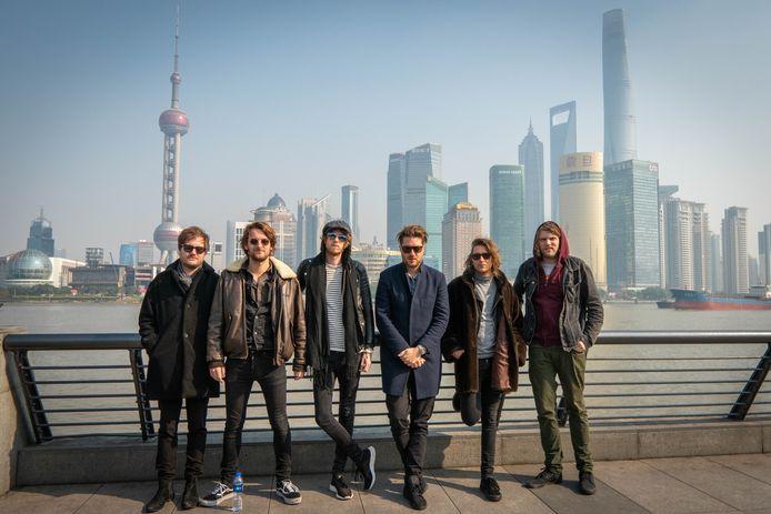 Stones Sessions, een van de coverbands die in Schijndel optreden.