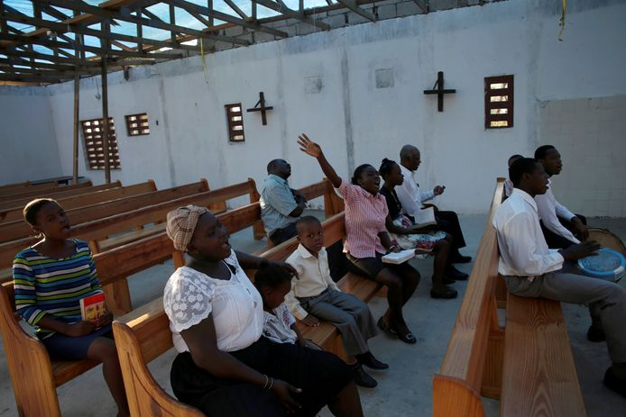 Een kerk op Haïti (archiefbeeld).