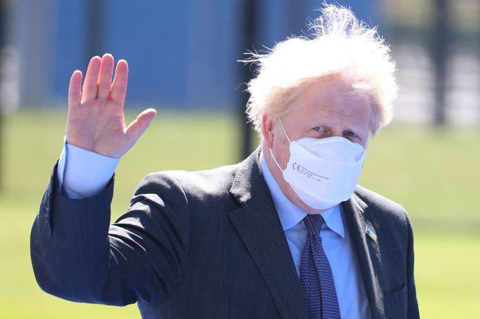 Brits premier Boris Johnson.
