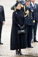 Koningin Máxima tijdens de Nationale Herdenking op de Dam.