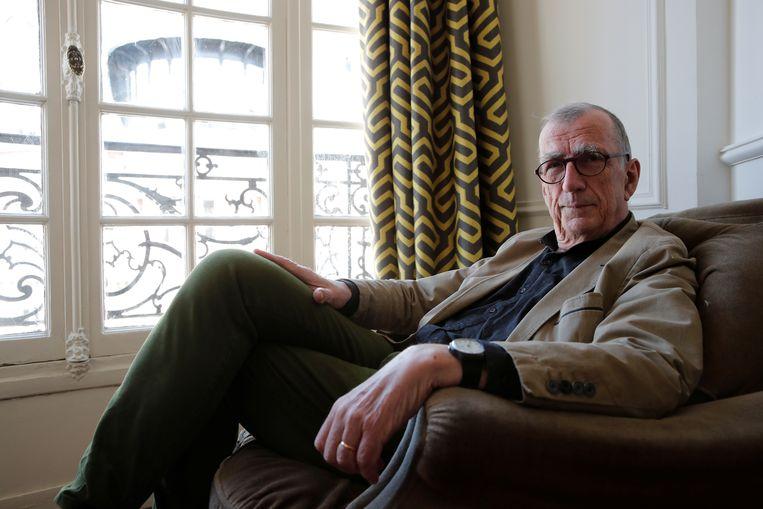Spinozalens-laureaat Bruno Latour thuis in Parijs. Beeld Reuters