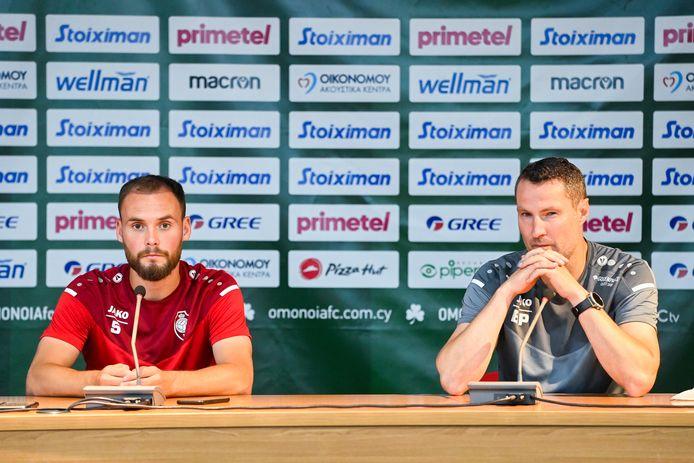 Birger Verstraete en Brian Priske.