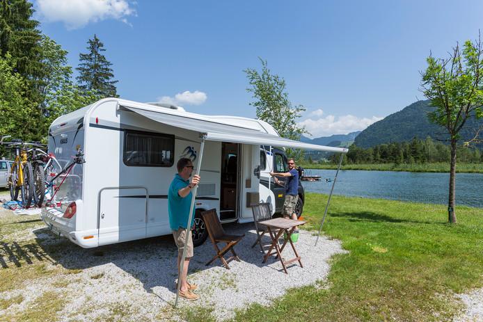 De gemiddelde prijzen van campings verschillen nogal per land